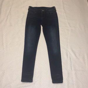 Dark Arizona jeans juniors size 1 jeggings